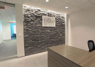 Stone Wall in Lobby